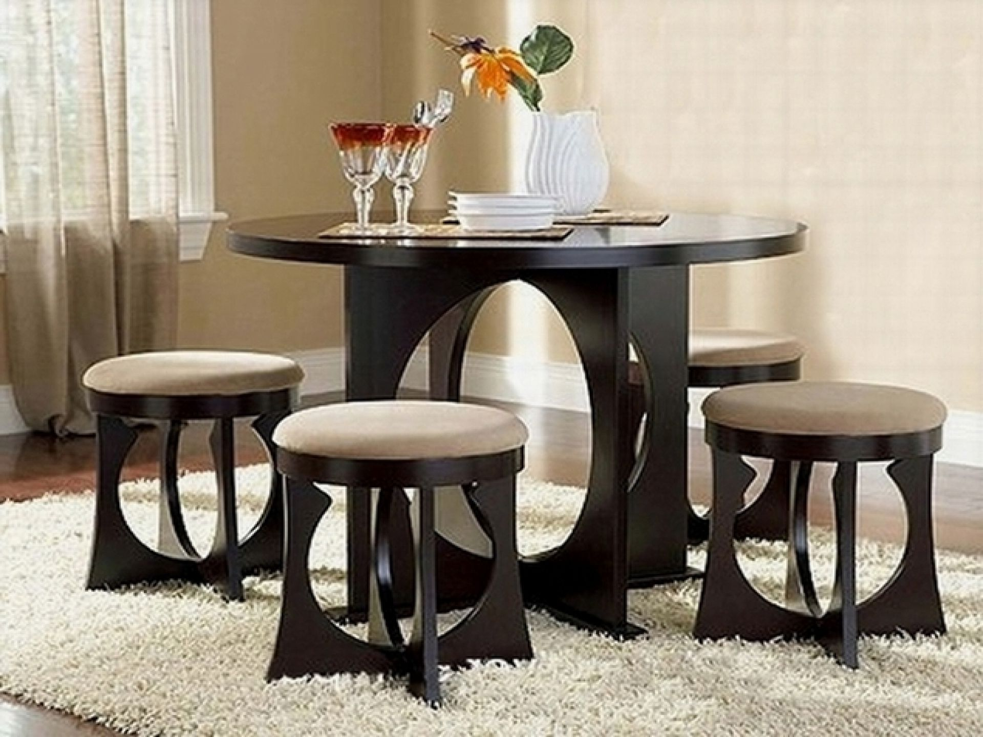Round Or Rectangular Dining Table For Small Space  Http Inspiration Quality Dining Room Tables Design Inspiration