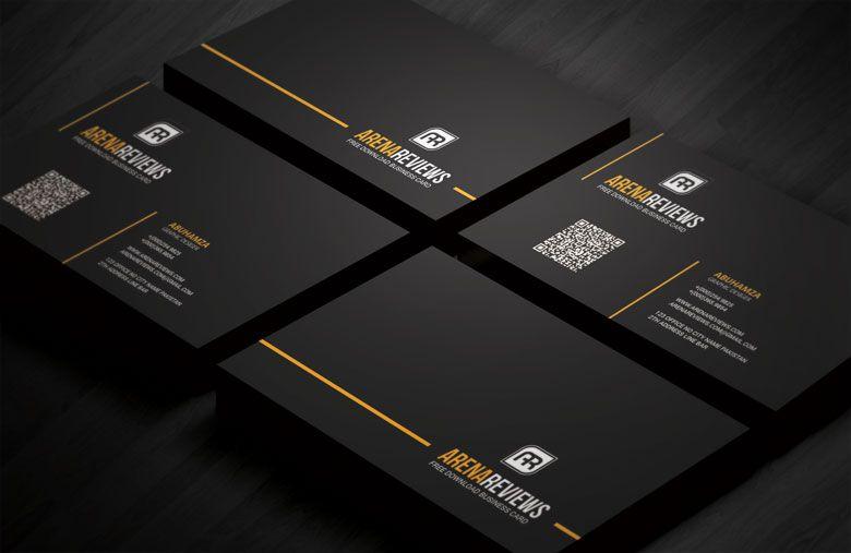Line Corporate Business Card Template | grafik tasarım | Pinterest ...