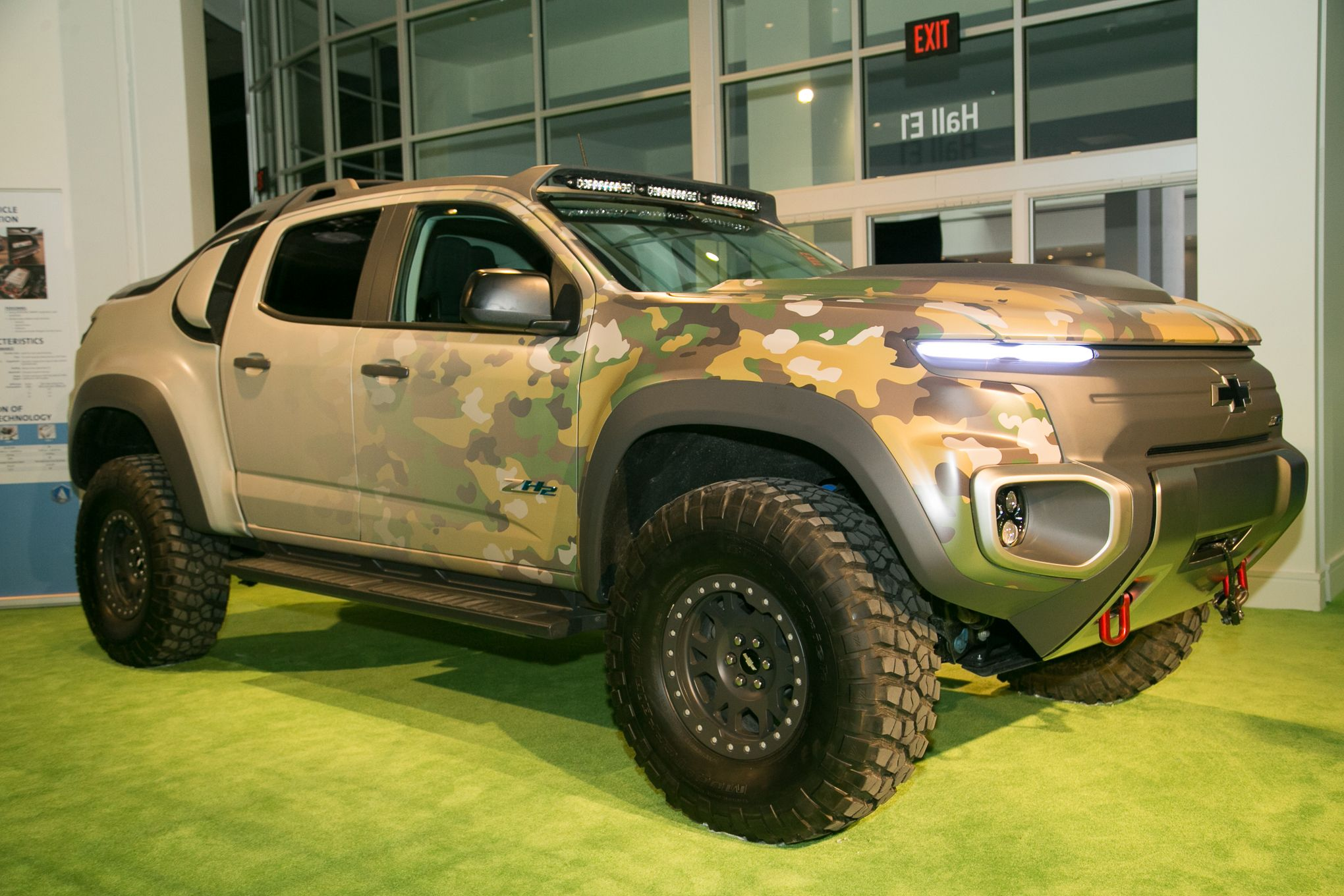The Chevrolet Colorado Zh2 Fuel Cell Previews The Future Of