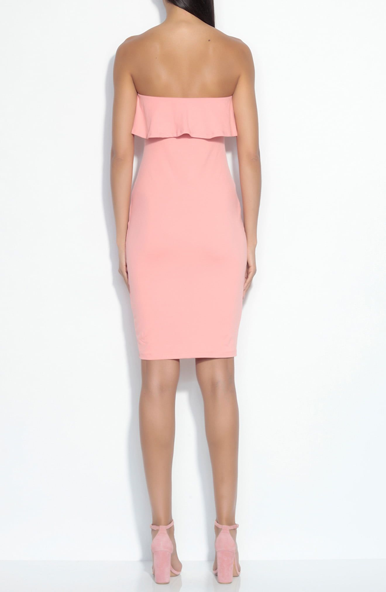 Susana Monaco Strapless Ruffle Dress Nordstrom In 2021 Ruffle Dress Strapless Ruffle Dress Dresses [ 2024 x 1320 Pixel ]