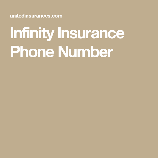 Infinity Insurance Phone Number Infinityinsurance