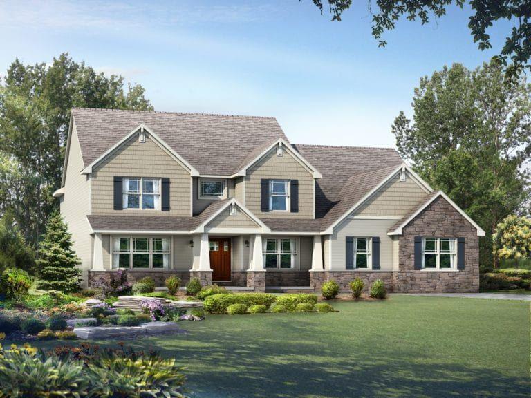 Craftsman floor plans Wayne Homes