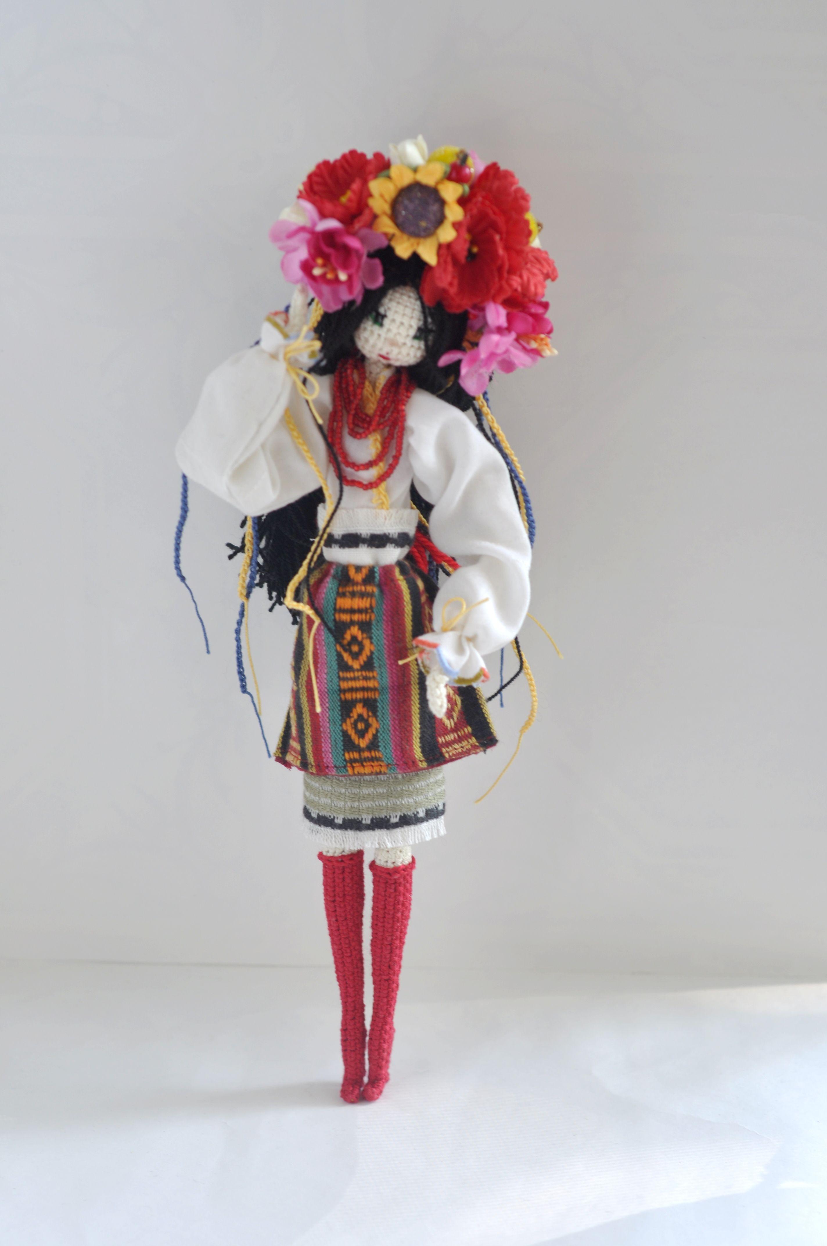 Авторская интерьерная кукла в национальном костюме ...