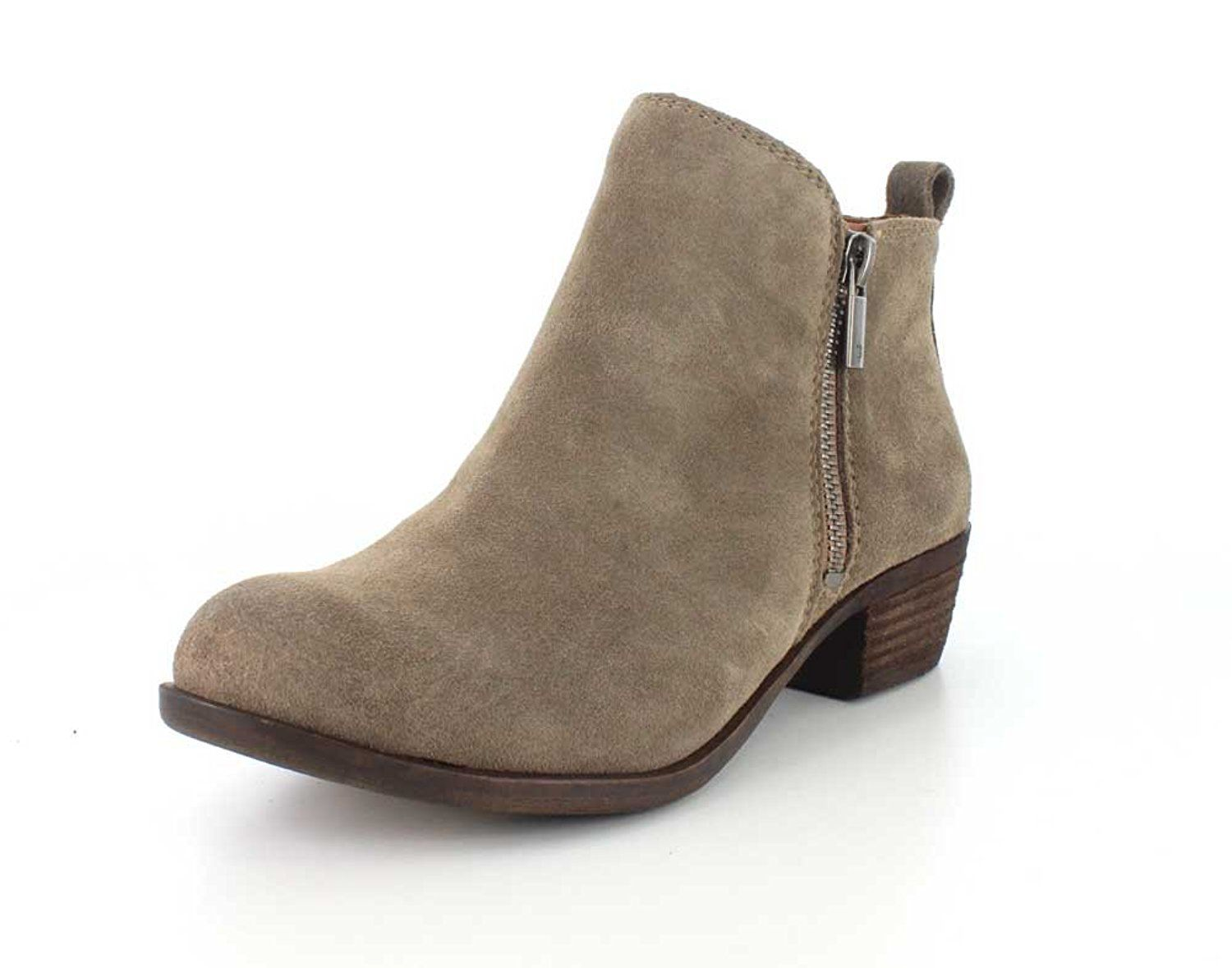 5db580b6bbb1 Lucky Brand Women s Basel Brindle Suede Flat Booties   Read more reviews of  the product by visiting the link on the image.
