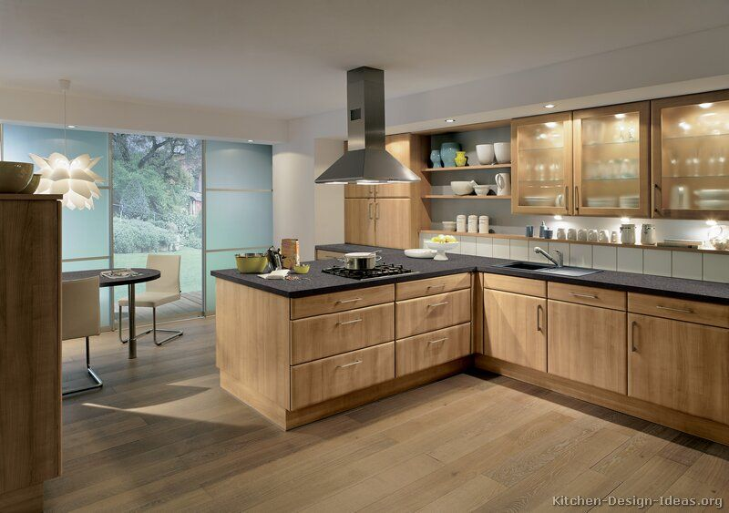 Kitchen idea of the day naturally warm and inviting for Warm kitchen ideas