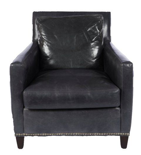 Maxwell Leather Chair Lillian August Furniture Chair