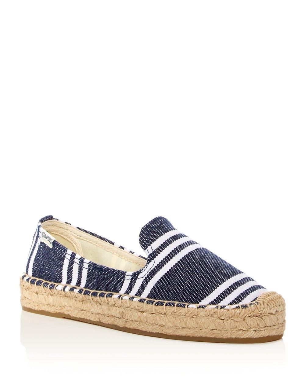 5061278d0 SOLUDOS Soludos Striped Smoking Slipper Platform Espadrilles. #soludos # shoes #all