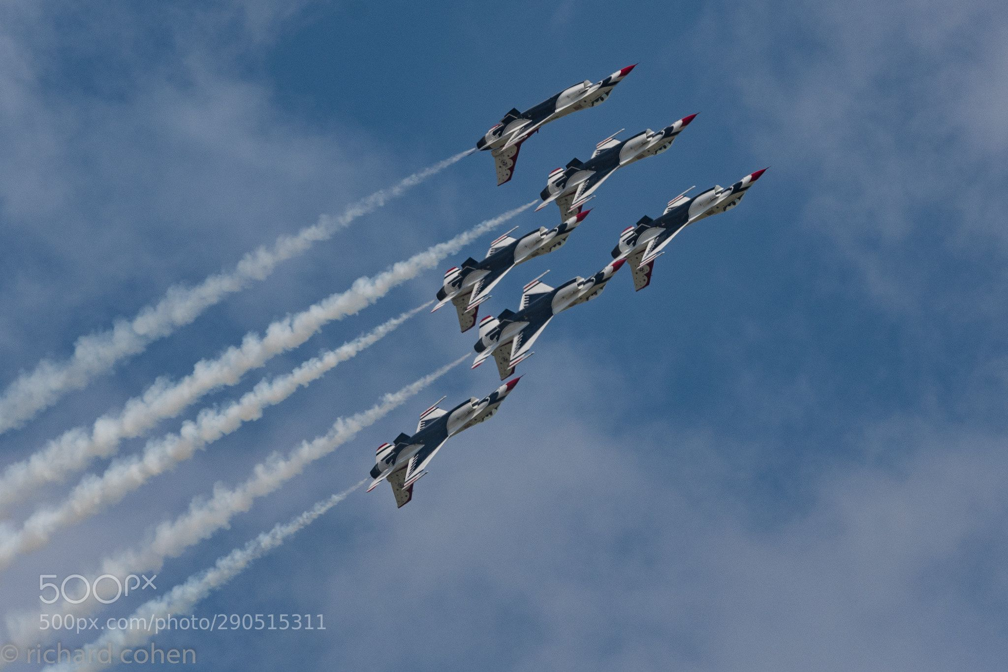 Can We Turn Over Soon.... Air force Thunderbirds doing a