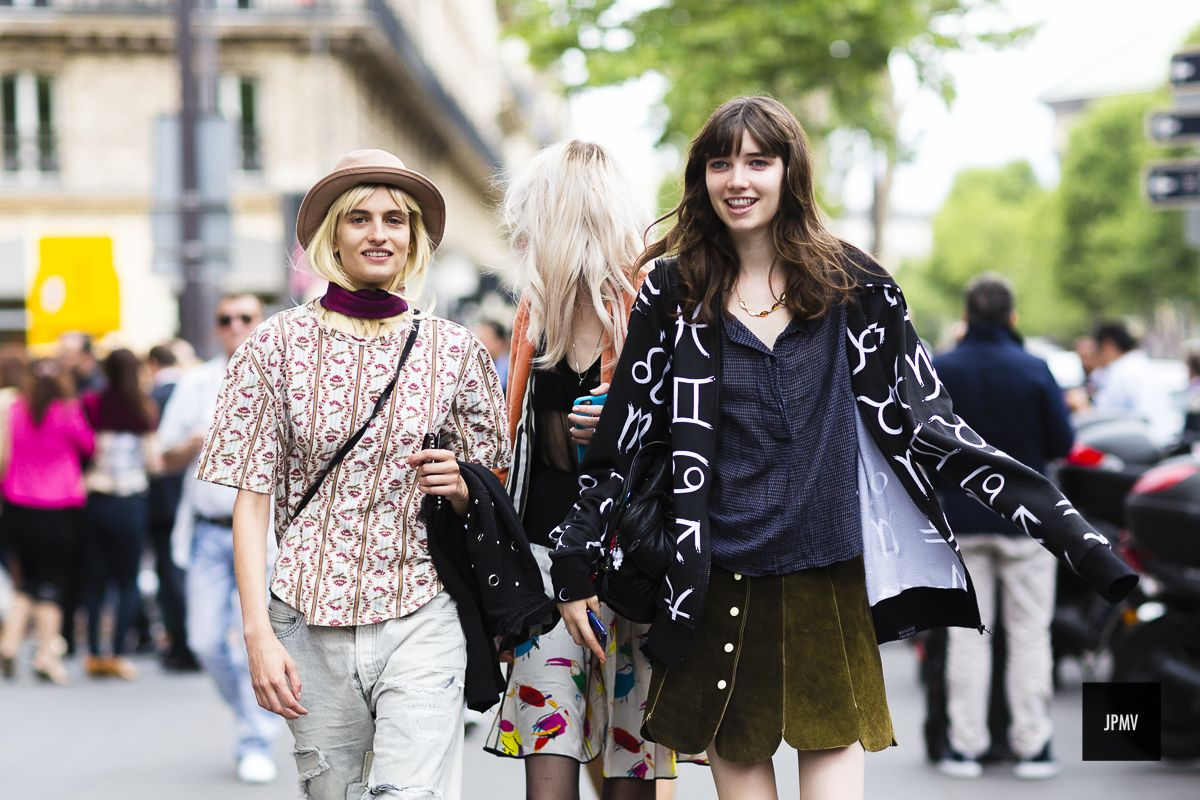 J'ai Perdu Ma Veste / Veronika Vilim, Lida Fox and Grace Hartzel – paris.  // #Fashion, #FashionBlog, #FashionBlogger, #Ootd, #OutfitOfTheDay, #StreetStyle, #Style