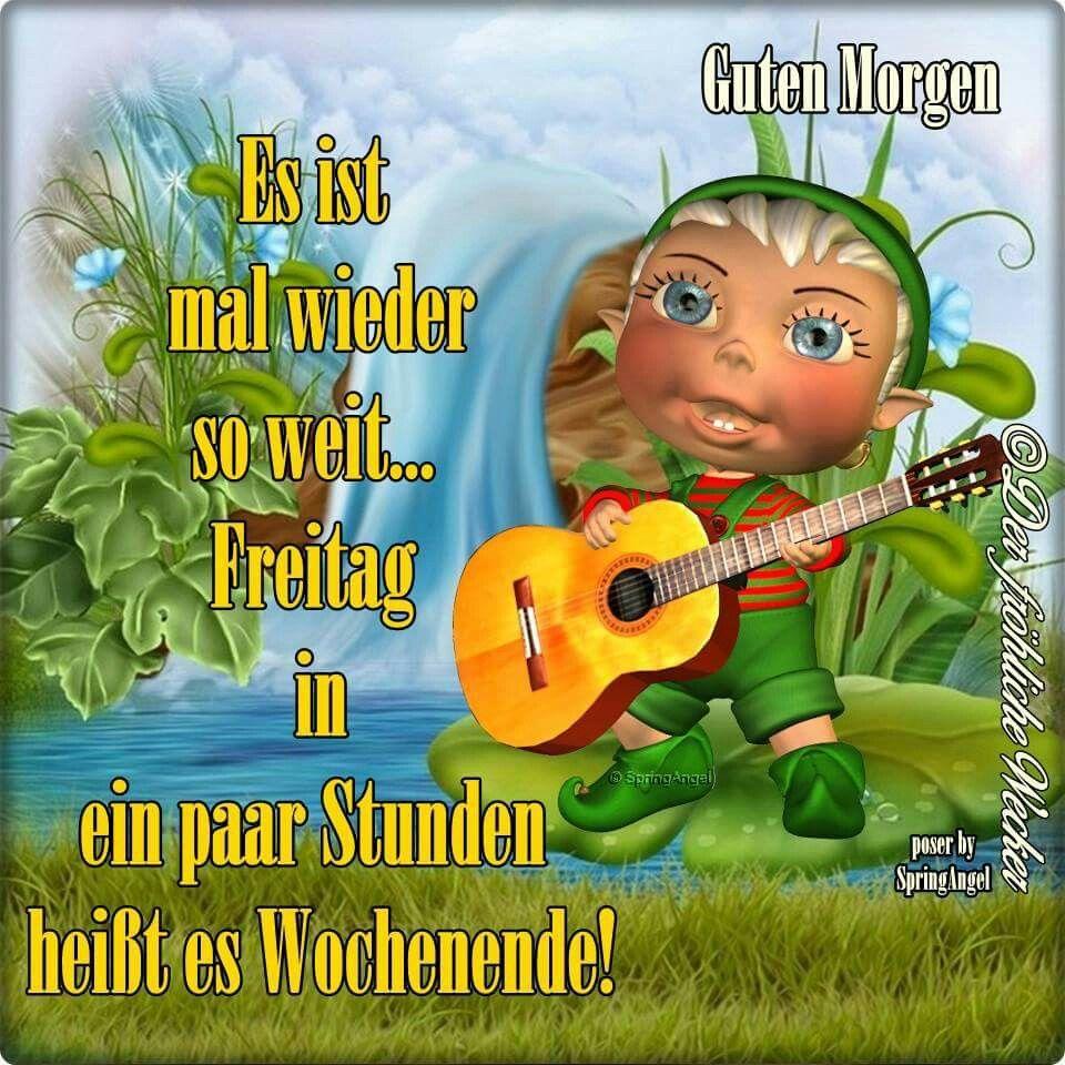 Guten Morgen Grüße Zum Freitag