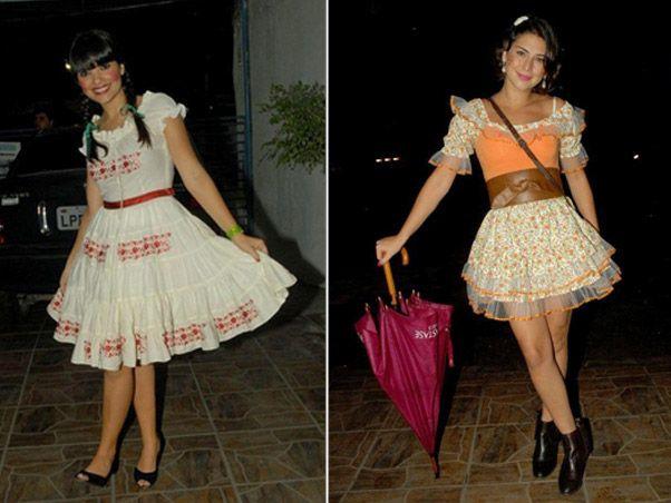 Vestidos femininos para quadrilha