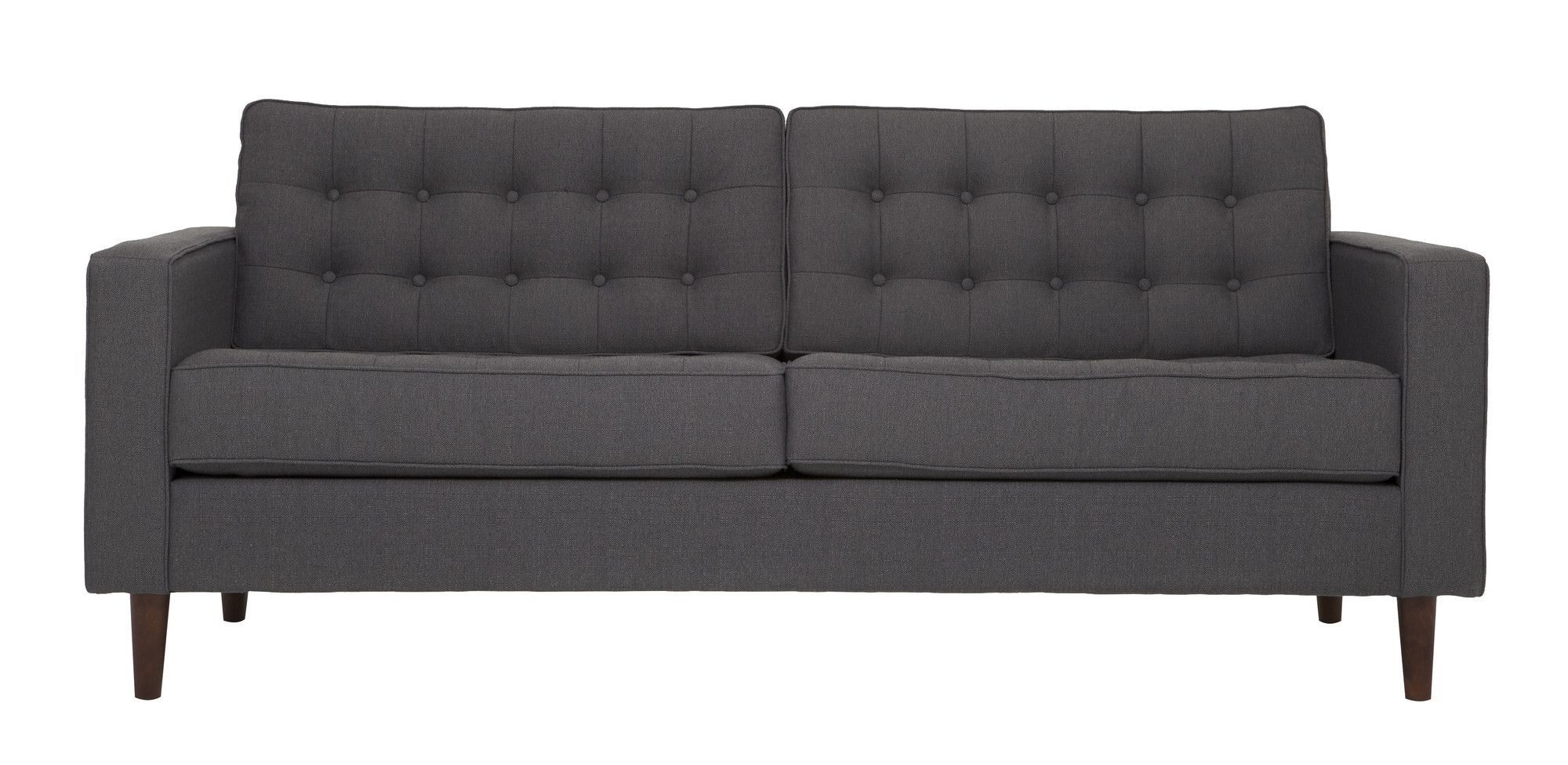 Aidan Tall Velvet Tufted Apartment Sofa Apartment Sofa Sofa Room