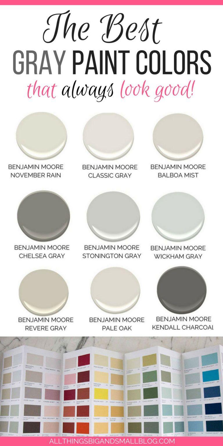 The Best Gray Paint Colors Never Fail Gray Paints March 2020