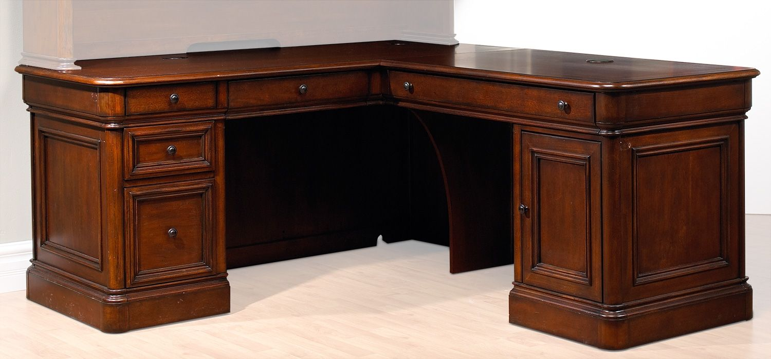 Captivating Villa Toscana Home Office 4 Pc. Corner Desk   Leonu0027s