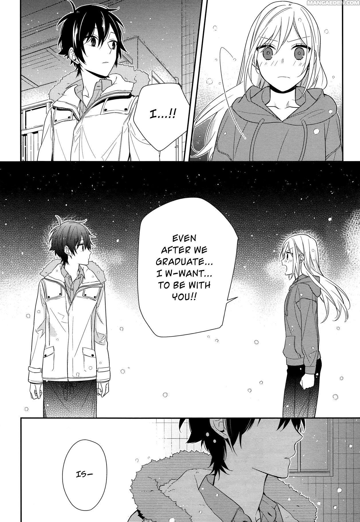 Manga Horimiya Chapter 63 Horimiya, Manga anime, Manga