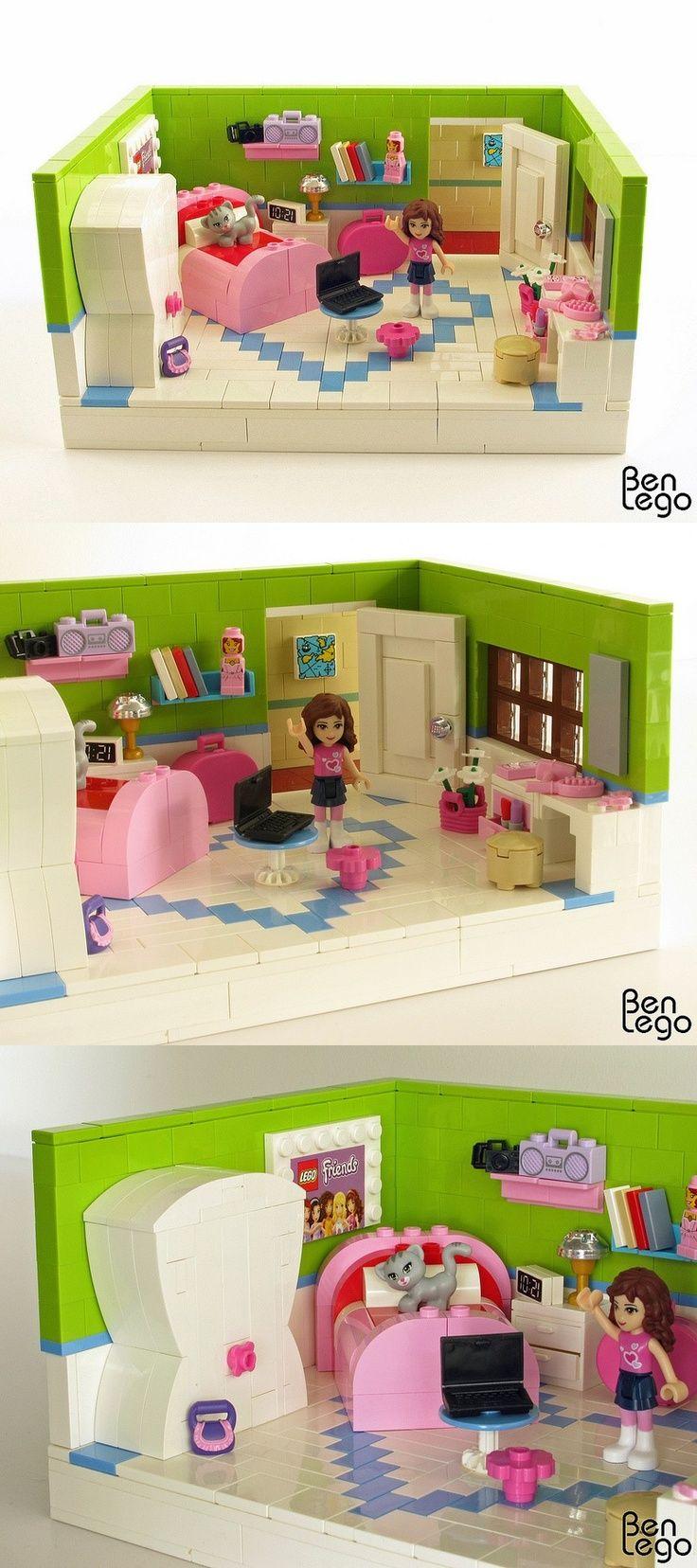Olivia S Bedroom Lego Bedroom Lego Friends Lego Girls