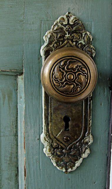 Vintage Door Knob Handle I Think A Cut Of A Door With