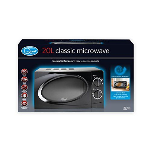 Quest 35860 Benross Classic Dial Microwave 20 Litre 700