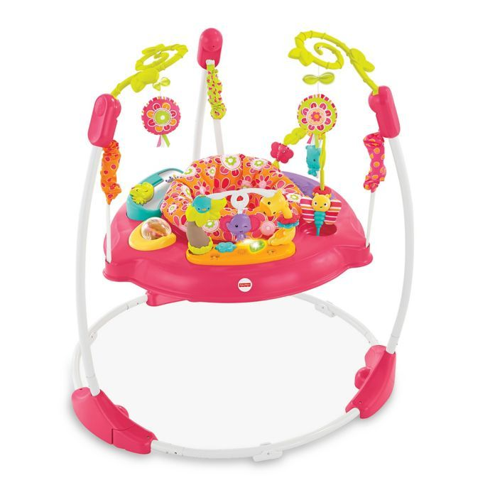 Fisher Price Pink Petals Jumperoo Fisher Price Jumperoo Baby Activity Center Jumperoo