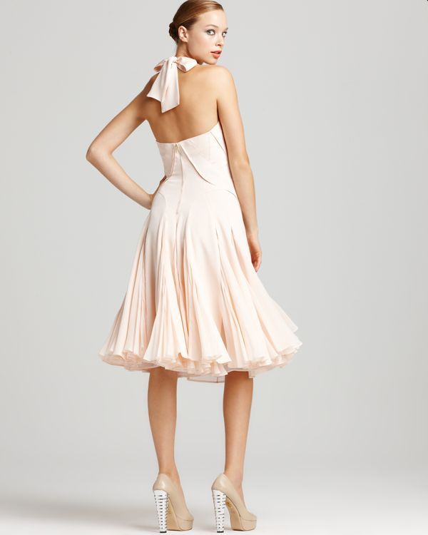 Zac Posen Dress - Halter with Pleated Skirt | My Style | Pinterest
