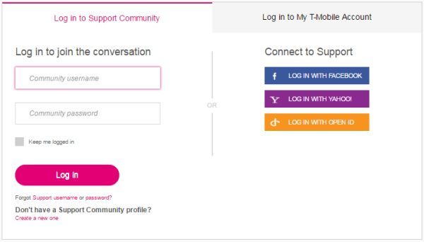 T-Mobile Support Login To Access Online Account | Technology | Stock