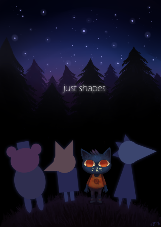Tumblr Night In The Wood Little Misfortune Game Art