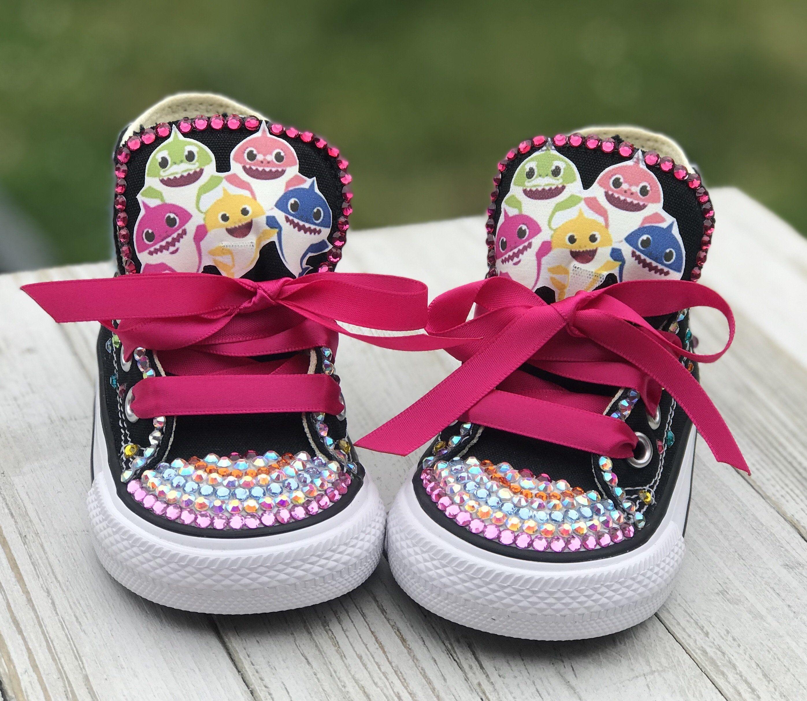 Baby Shark Converse Sneakers, Infants