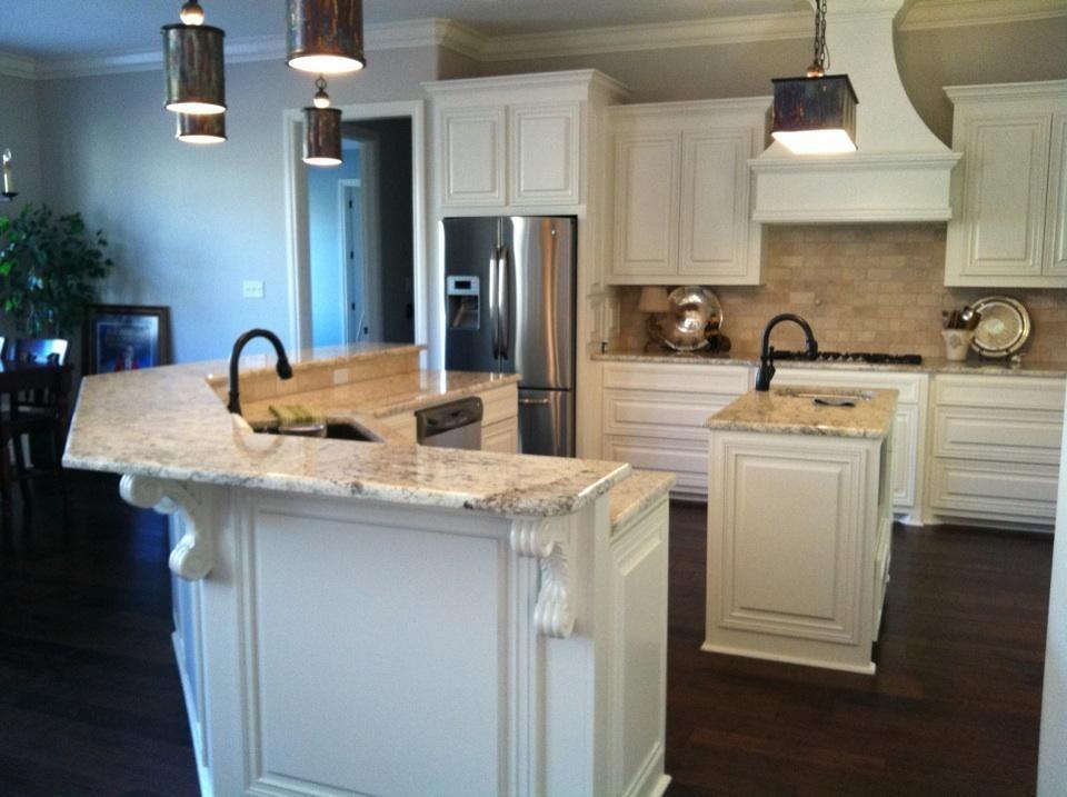 The kitchen of Madden Home Designs Azalea house plan The Azalea