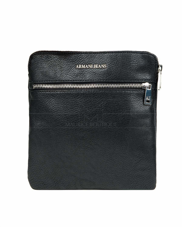 4d3d4f807e328 Bolso Armani Jeans ® Hombre - Eco Piel Negro   ENVIO GRATIS   Armani ...