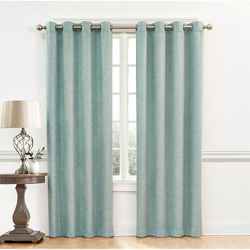 Sonoma Goods For Life Dynasty Room Darkening Curtain In Aqua