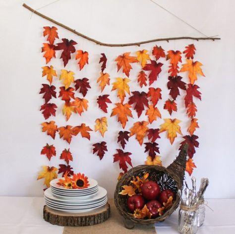 Herbstdeko selber basteln – 40 erstaunliche Ideen