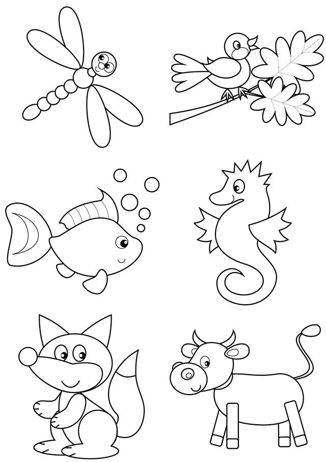 Les animaux enfants - Dessin pour les petit ...