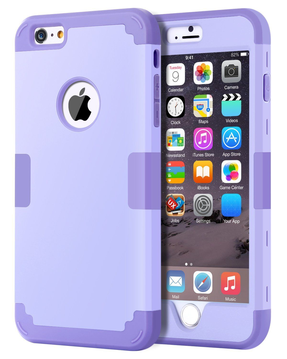 0ffbd3647f9 iPhone 6S Plus Case, iPhone 6 Plus Case, BENTOBEN Drop Protection  Shockproof 3 in