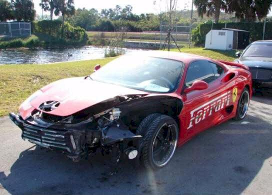 wrecked ferrari exotic cars for sale repairable salvage f430 challenge and 360 challenge. Black Bedroom Furniture Sets. Home Design Ideas