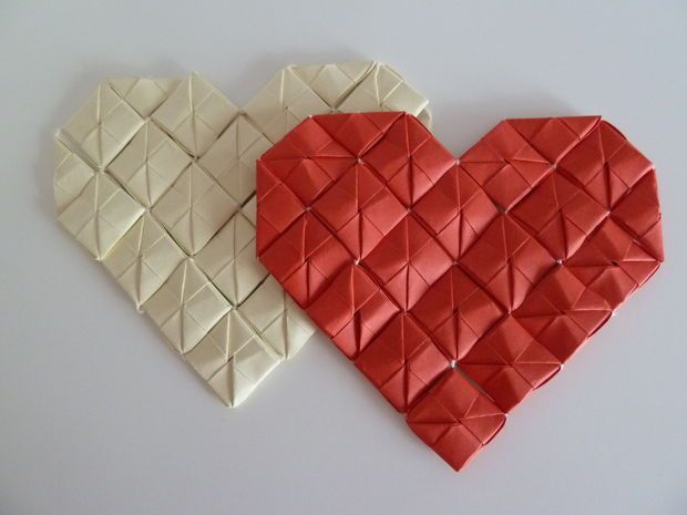 Paper Heart Decorations
