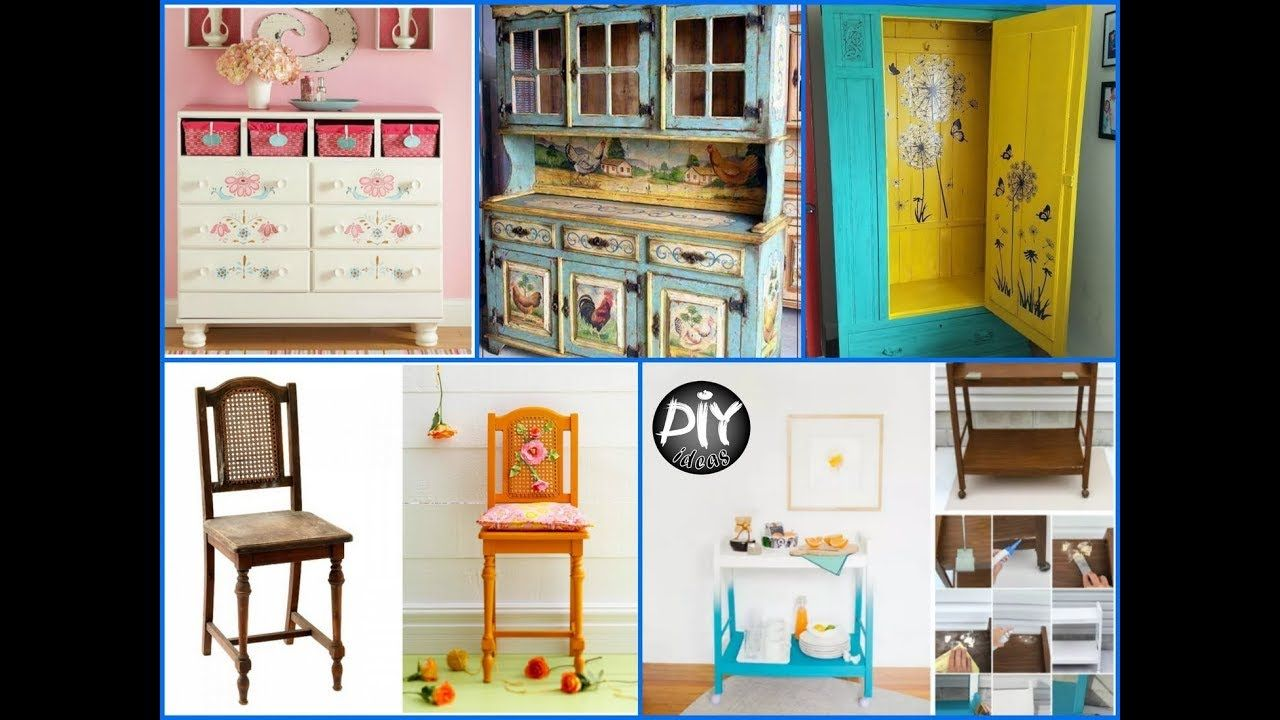 Charmant How To Recycle Old Furniture   Turn Old Things Into New Things