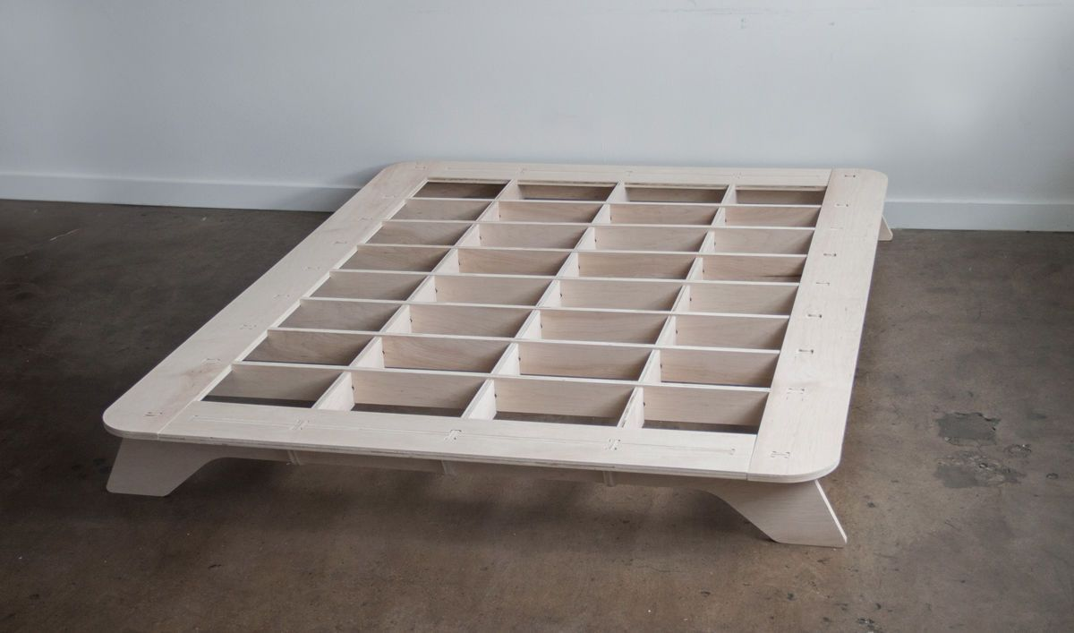 5 Favorites The New Portable Flat Pack Bedframe Diy Bed Frame