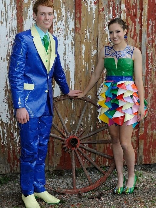 how to make a duct tape tuxedo from scratch