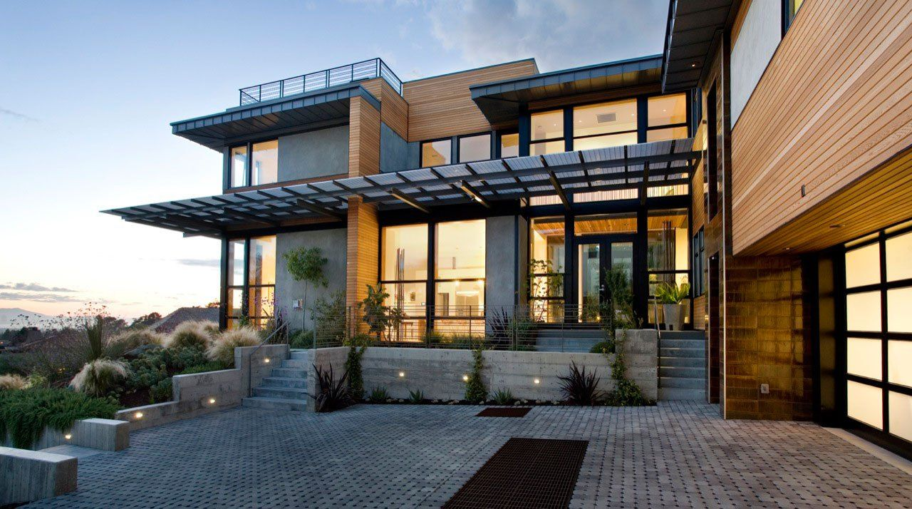 energy efficient design tips home greener ideal rustic lodge space ...