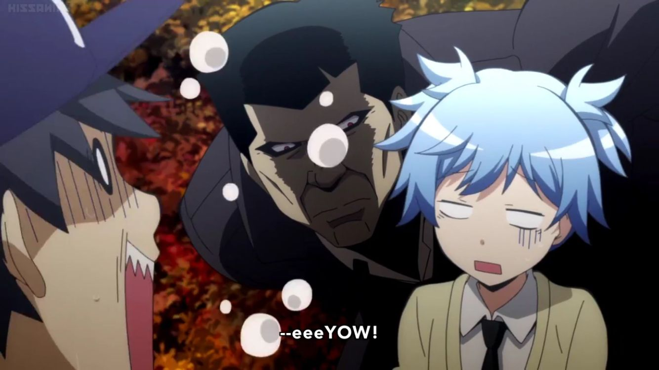 He is scary tho with images assasination classroom