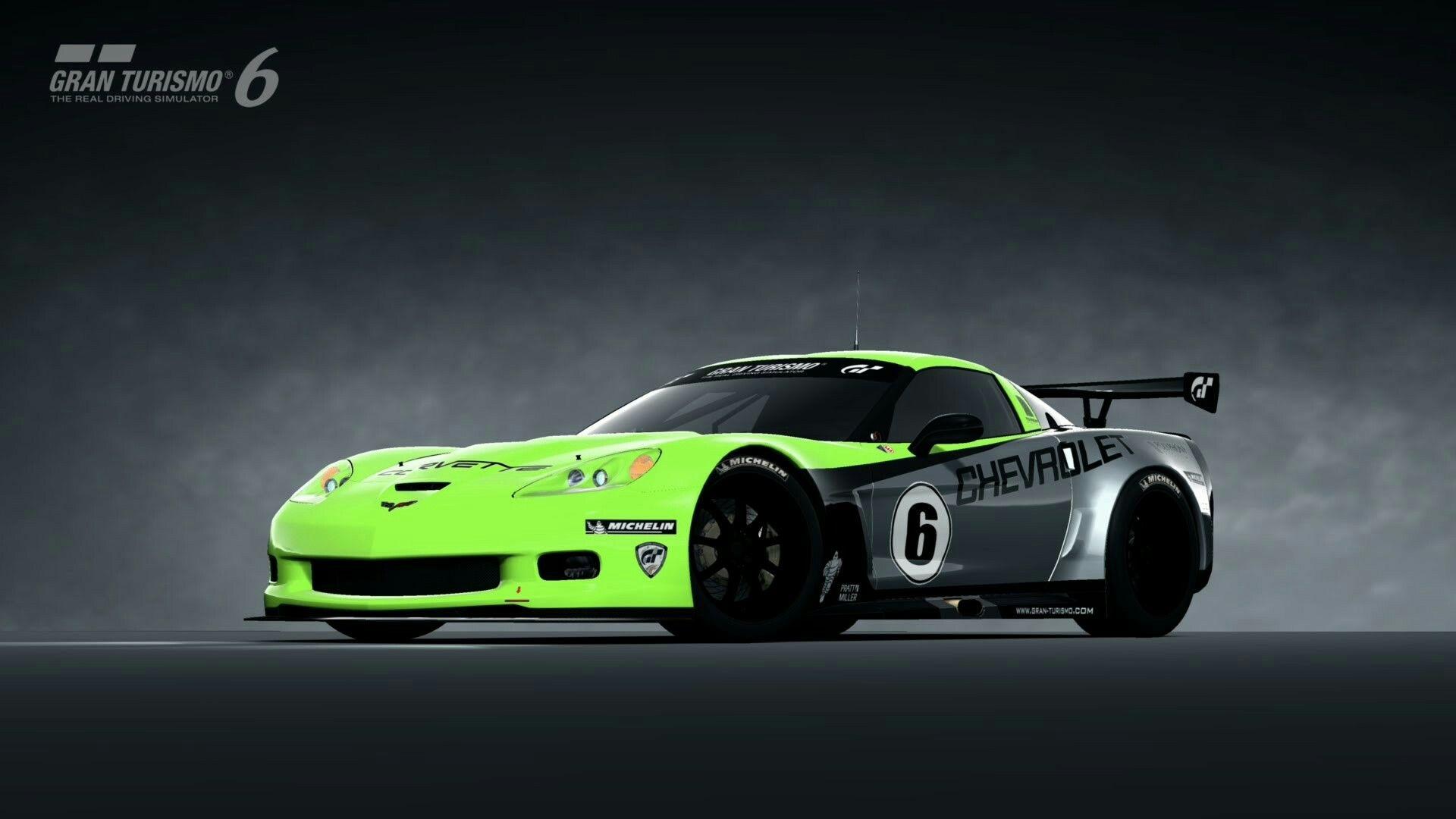 Gt6 tune chevrolet corvette z06 c6 lm race car 06 youtube