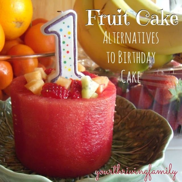 A New Kind of Fruit Cake and healthy alternatives for traditional