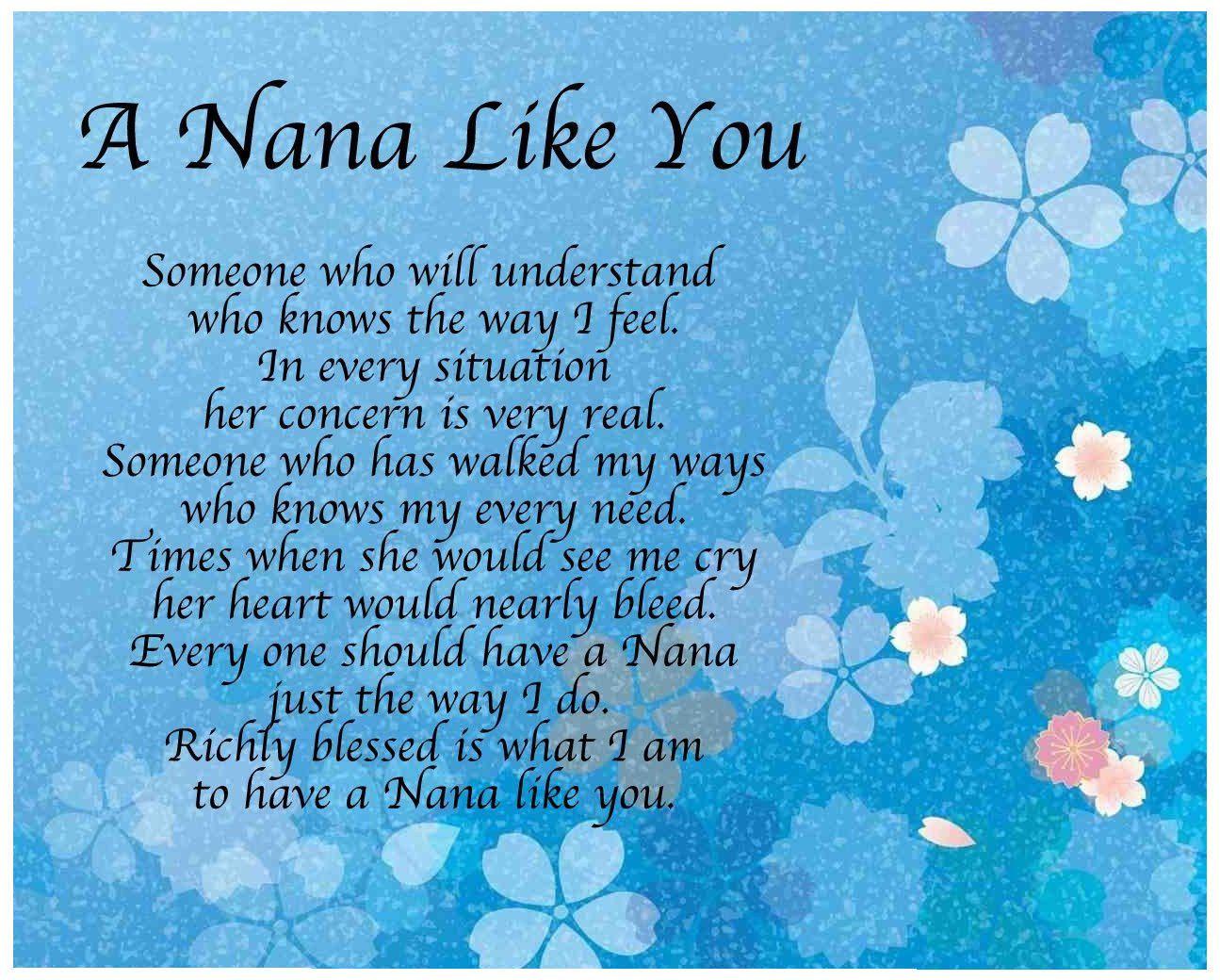 Personalised Nana 4x6 picture photo frame Nana/'s best friends Grandma Gran Nan