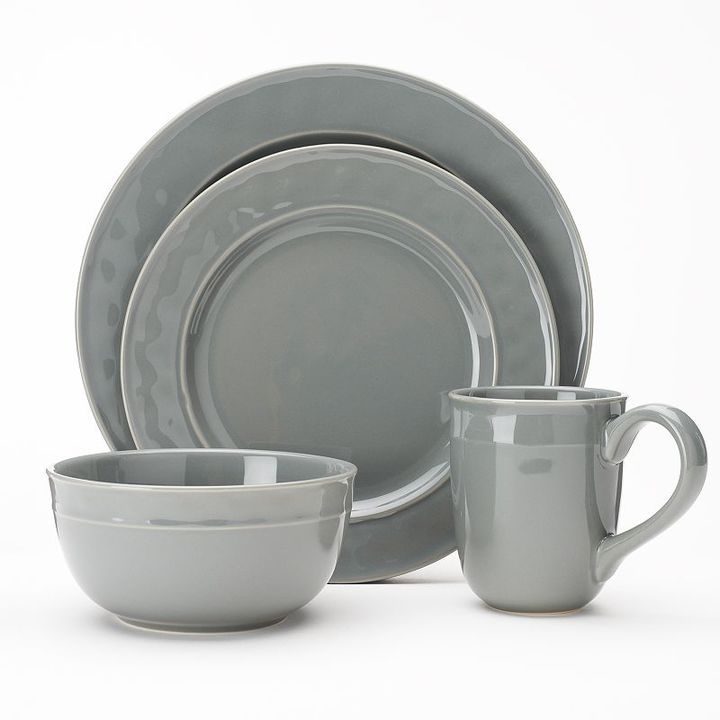 Food NetworkTM Fontina 16-pc. Dinnerware Set. #kohls #foodnetwork #greykitchen Create a stunning presentation at mealtime with this Food Network dinnerware ...  sc 1 st  Pinterest & Food NetworkTM Fontina 16-pc. Dinnerware Set. #kohls #foodnetwork ...