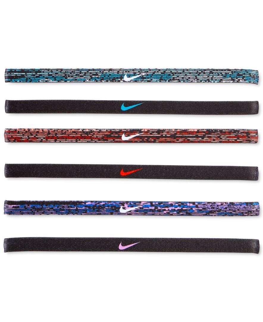 Nike 6Pk. Active Mini Printed Headband Set & Reviews