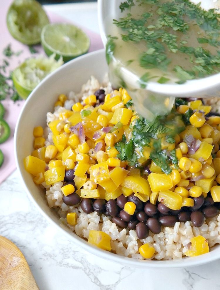 Fiesta Lime And Black Bean Rice