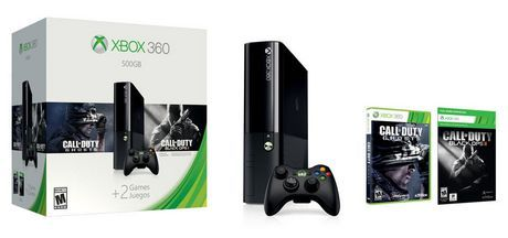 Xbox 360 500GB Holiday Bundle available from Walmart Canada