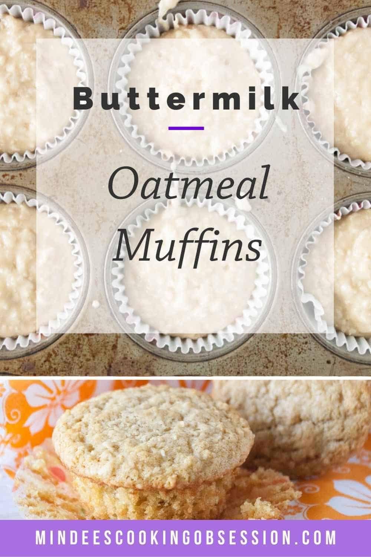 Buttermilk Oatmeal Muffins Recipe In 2020 Oatmeal Muffins Muffins Oatmeal