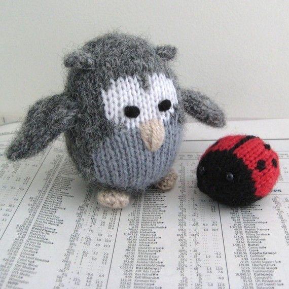 Cricklewood Owl toy knitting patterns | Handarbeiten, Stricken und ...