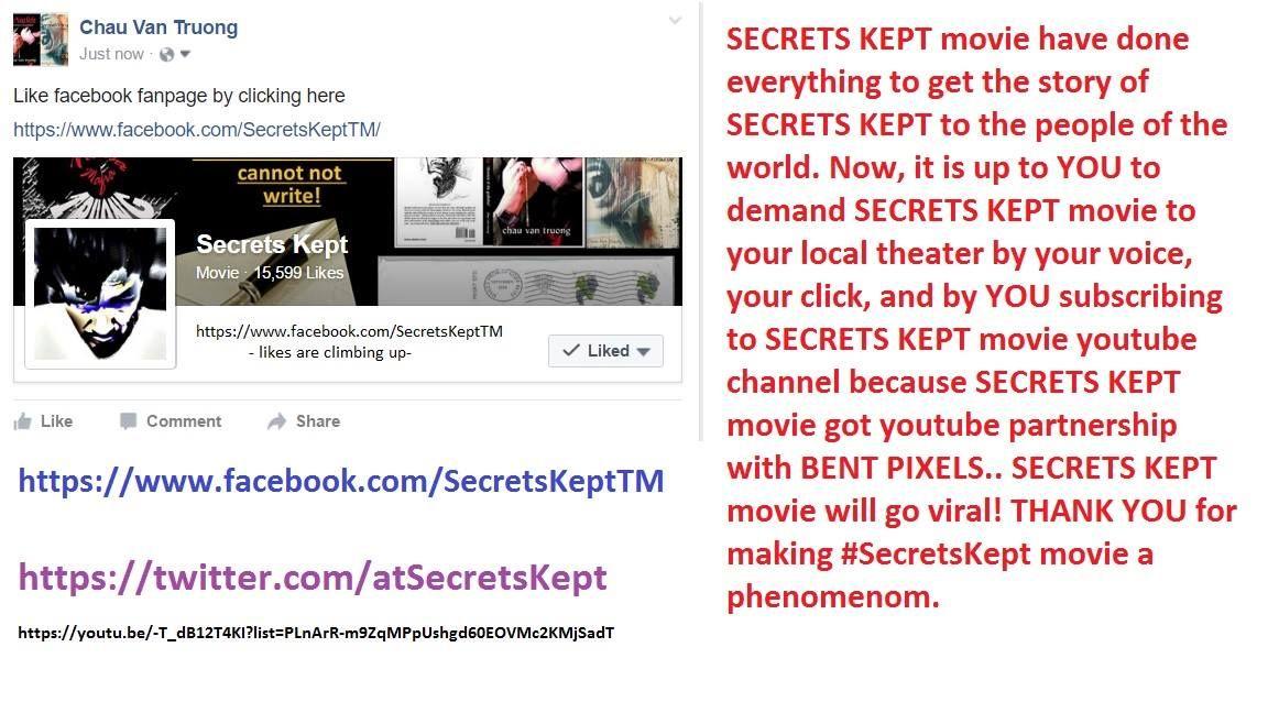 Pin on SecretsKept movie